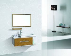 Modern Sanitary Ware Wooden Bathroom Cabinet pictures & photos