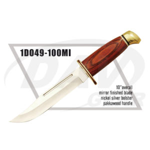 "10"" Overall Pakkawood Handle Dagger with Mirror Finished Blade: 1do49-100mi pictures & photos"