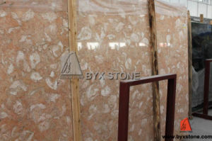 Butterfly Beige / Fossilous Beige Marble Slab pictures & photos