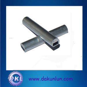 Custom Aluminum Tube with a Hole in Middle (DKL009) pictures & photos