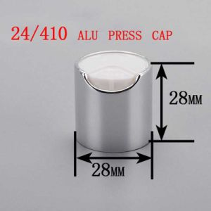 24/410 Alu/Plastic Disc Top Press Cap, Cosmetic Shampoo Bottle Cap pictures & photos