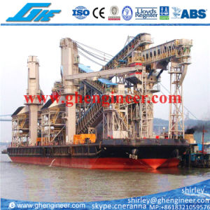 Floating Terminal Crane Unloading Barge pictures & photos