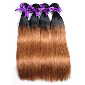 Peruvian Human Hair Bundles 10-26 Inches 1b 30 Human Hair Factory Wholesale 14inch pictures & photos