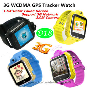 3G GPS Tracker Watch for Children with Multiple Language (D18) pictures & photos