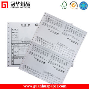 SGS Excellent Quality 2 Ply NCR Carbonless Printing Paper pictures & photos