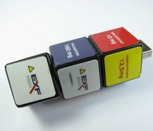 Rubik′s Cube Shape Funny Giveaways for Customers USB Flash Stick Bulk pictures & photos