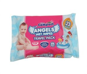 Baby Wet Wipes with Cover Pocket Pack Baby Wipe