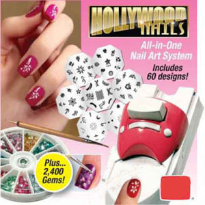 Nail Printer, Hollywood Nails, Nail Art System Kit pictures & photos