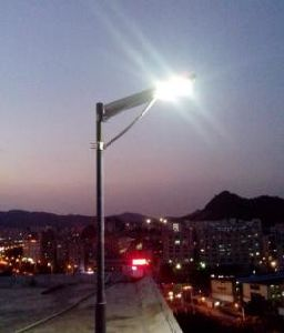 All in One 15W Motion Sensor Solar Garden Light pictures & photos