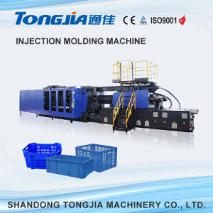 Plastic Cup/Crate Auto Injection Molding Machine pictures & photos