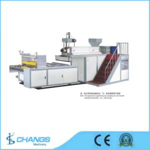 Sjds/1000-75 Single-Layer Stretch Film Making Machine (Casting Film Extruder) pictures & photos