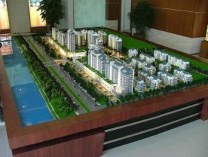 Architectural Scale Model of Real Estate Development (JW-01) pictures & photos