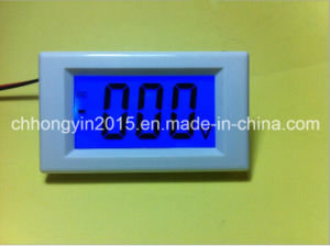 CE Certification D85-30 LCD DC Voltage Panel Meter pictures & photos