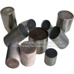 Rare Earth Catalyst -Coated Honeycomb Metal Substrate, Diesel Catalytic Metallic Substrate Catalyst Converter (or Ceramic Honeycomb) pictures & photos