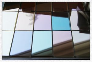 6mm Green, Blue, Bronze, Pink, Clear Reflective Glass Coated Glass for Window, Door pictures & photos