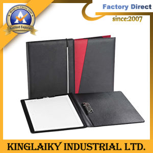 Hot Selling PU File Folder with Clip for Promotion (MF-04) pictures & photos