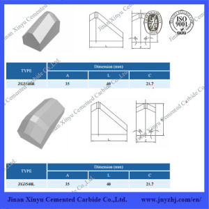 Tungsten Carbide Cutters for Shield Machine pictures & photos