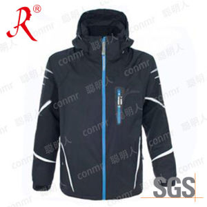 Waterproof Winter Ski Jacket with Hood (QF-6131) pictures & photos