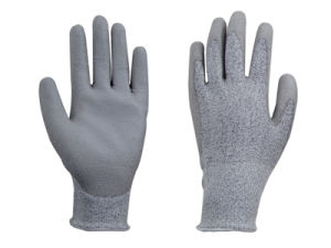 Anti- Cut PU Glove (1501) pictures & photos