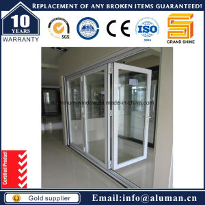 2016 Hot Sale GS70 Series Aluminum Entrance Sliding Bifold Door in Australia with as 2208 pictures & photos