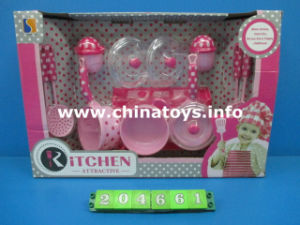2017hot Sale Kitchen Toys, Cooking Toy Set (204661) pictures & photos