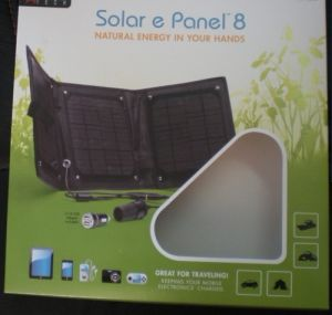 Cloth Solar Panel Bag 8watt pictures & photos