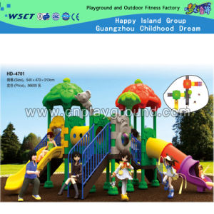2015 New Design Plastic Outdoor Playground Equipment for Children (HD-4701) pictures & photos