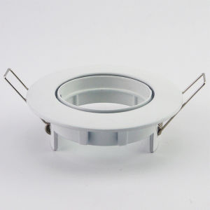 Aluminum Die Casting GU10 MR16 Round Tilt Recessed LED Downlight (LT1202) pictures & photos