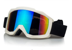 Anti-Scratch Coating PC Ski Equipment Motocross Goggles pictures & photos