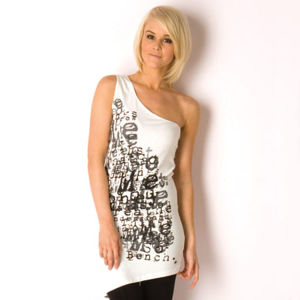 Lady Fashion T-Shirt / Top (FC000199) pictures & photos