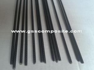 Pultruded 3k Twill Weave Carbon Fiber Solid Rod Shafts