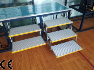 2 Step Ladders and 3 Step Ladders Folding Electric Steps pictures & photos