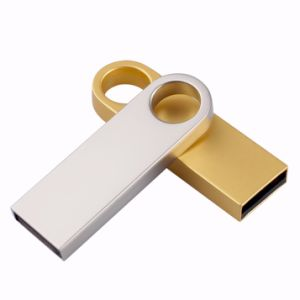 Real Capacity Waterproof USB Flash Drive Mini Metal Pen Drive 4GB 8GB 16GB 32GB 64GB Gold/Silver Memory Stick U Disk Thumbdrives pictures & photos