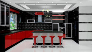 Middle East Style Lacquer Series Kitchen Furniture (Br-L015) pictures & photos
