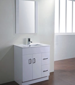 Gloss White MDF Bathroom Cabinet Vanity (a-75m) pictures & photos