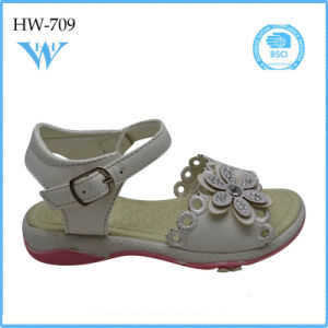 Hot Sale Girl Kids Stylish Casual Sandal Shoes pictures & photos