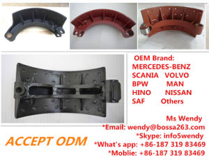 Cast Brake Shoe for Mercedes Truck 6594200519 pictures & photos