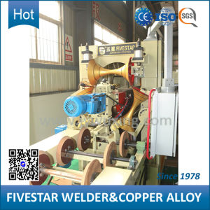 Variable Frequency Fully Automatic Steel Drum Seam Welding Machine pictures & photos