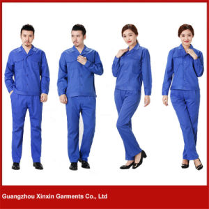 2017 New Long Sleeve High Quality Work Garments for Winter (W277) pictures & photos