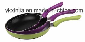 Amazon Vendor Kitchenware Aluminum Nonstick Frypan Set Cookware Multi Color pictures & photos
