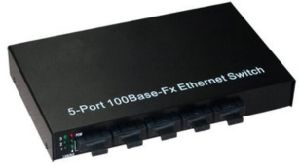 5 Port 100base-Fx Full-Optical Fiber Ethernet Switch pictures & photos