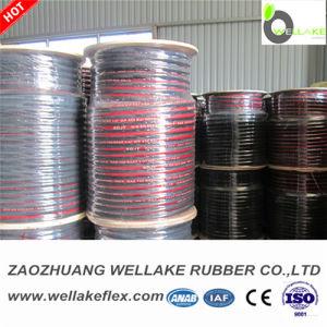 "One Wire Braid Hydraulic Rubber Hose SAE R1at 1/4"""