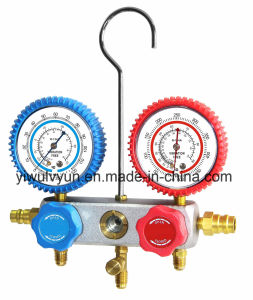 134A Al Manifold Gauge Set with Rubber Protector pictures & photos