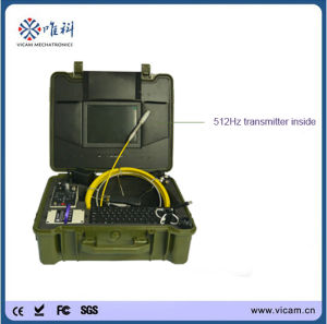 512Hz Sonde / Transmitter Drain Sewer Inspection Camera with 30m Cable pictures & photos