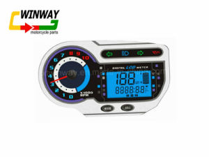 Ww-7292 Motorcycle Instrument, LED Motorcycle Speedometer, pictures & photos