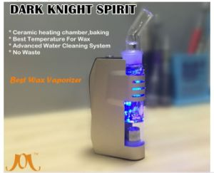 2016 Unique Design Wax Vaporizer Dark Knight Spirit with Water Cleaning System pictures & photos