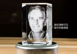 Beautiful Decoration 3D Photo Crystal Laser Engraving Machine pictures & photos