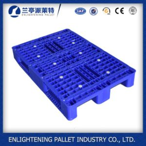 High Quality Heavy Duty Large Plastic Pallet for Rack Use pictures & photos