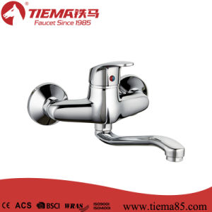 Classic Single Handle Popular Sink Wall Mixer (ZS71602) pictures & photos