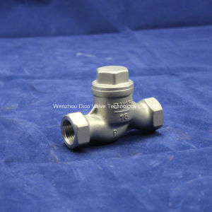 Stainless Steel Lift Check Valve pictures & photos